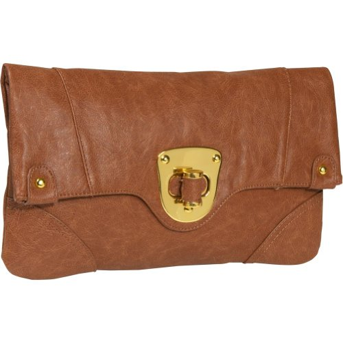 Urban Expressions Chelsea Clutch (Cognac), Bags Central