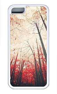 iPhone 5c case, Cute Sense Of Autumn iPhone 5c Cover, iPhone 5c Cases, Soft Whtie iPhone 5c Covers