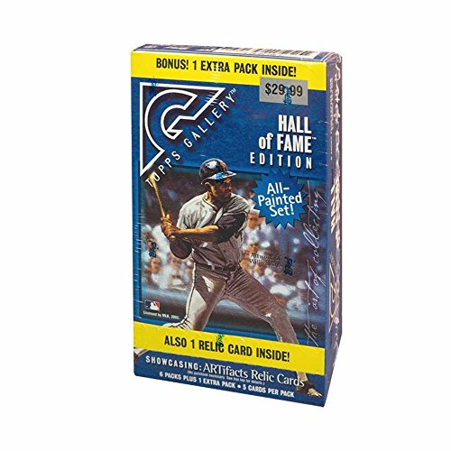 2003 Topps Gallery Hall of Fame Edition Baseball 7ct Blaster Box (Box Topps Baseball Gallery)