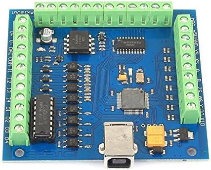 SainSmart 4 Axis Mach3 USB CNC Motion Controller Card Interface Breakout Board MC3D3 V2.1