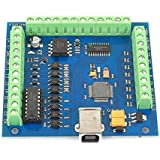 SainSmart 4 Axis Mach3 USB CNC Motion Controller Card Interface Breakout Board