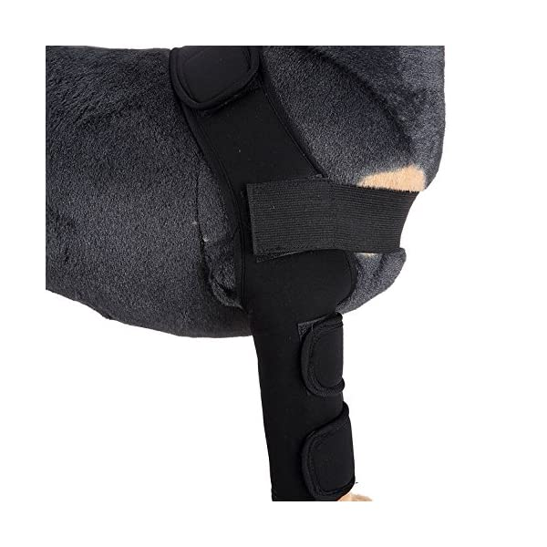 SELMAI Dog Front Leg Brace Support Canine Paw Compression Wrap Shoulder Protects Wounds Brace Extra Supportive Hock… Click on image for further info. 5