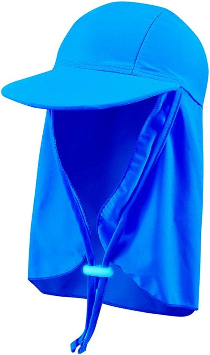 Beach Hat Legionnaire Style UV Sun Protection Summer Hat for Kids Flap Caps Outdoor Boys Girls UPF 50