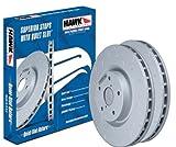 Hawk Performance HUS8664 Quiet Slot Brake Rotor