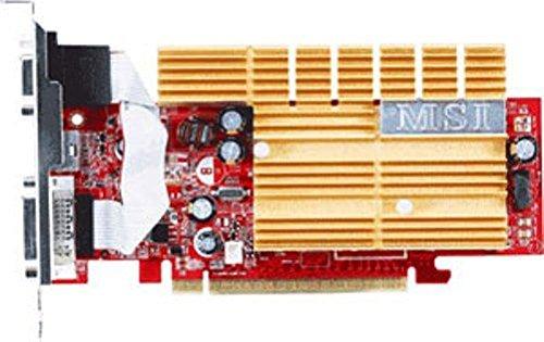 MSI NX7300LE TD256EH MSI NX7300LE-TD256EH GeForce 7300LE 256MB GDDR2 Graphics Card, 64-bit 256 Mb Gddr2 Graphics