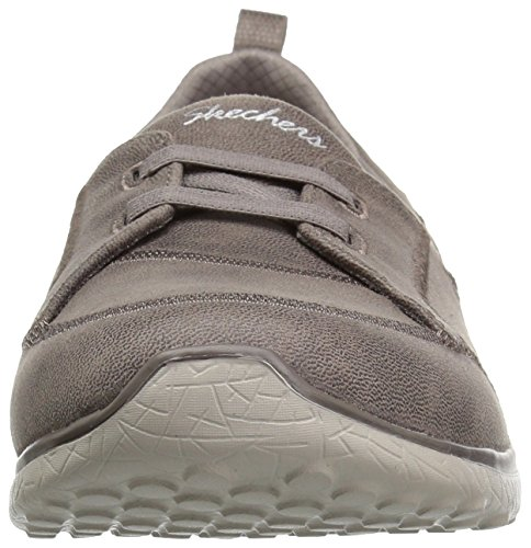 Gris 23333 Para Mujer Zapatillas Sintético Skechers Topo De Oscuro Negro 0wF7URqx