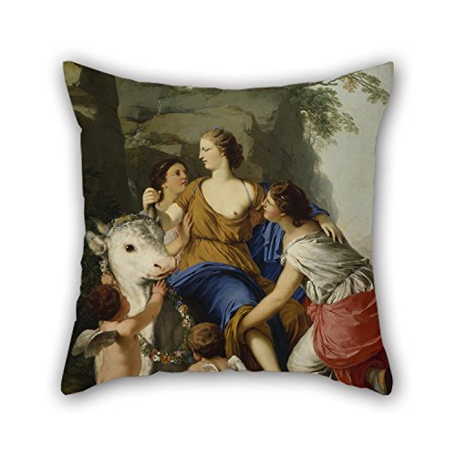[Alphadecor Oil Painting Laurent De La Hyre - The Rape Of Europa Throw Pillow Case 20 X 20 Inches / 50 By 50 Cm For Couples,sofa,kids Boys,seat,lover,dining Room With Twice] (Project M 35 New Costumes)