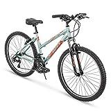 Huffy Hardtail Mountain Bike, Escalate 24-26 inch 21-Speed, Lightweight