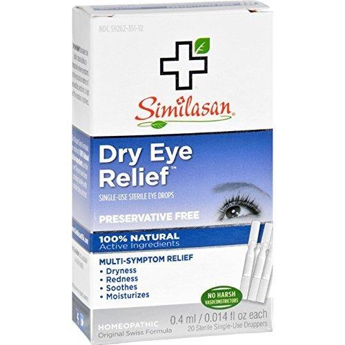 Similasan Monodose Eye Drops - Similasan SIMILASAN EYE DROPS #1 MONO DOSE, 20 CT
