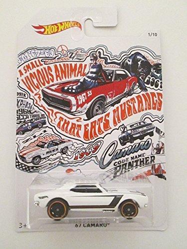 2018 Hot Wheels 50th Anniversary Exclusive Camaro Series 1/10 - '67 Camaro (White) ()
