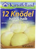 Kartoffelland 12 Knodel, Halb & Halb (12 Potato Dumplings Half & Half), 12-Ounce Boxes (Pack of 14)