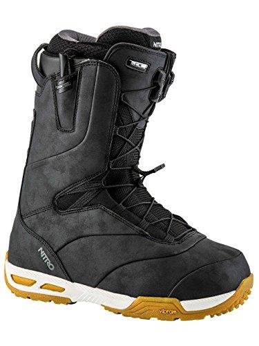 Nitro Venture PRO TLS Snowboard Boots (Black-Gum, 11.5)
