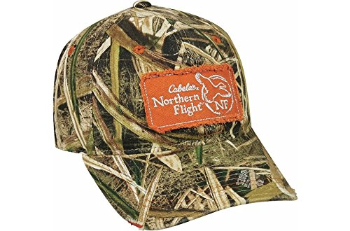 CABELA'S NORTHERN FLIGHT CAP in TWO CAMO PATTERNS (Mossy Oak's Shadow Grass Blades) (Cabelas Blade)