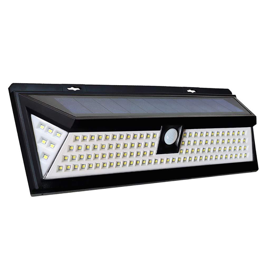 Felice shopping Luci solari, Lampat Outdoor 62 LED, LED, LED, Super luminoso sensore di movimento luci con illuminazione grandangolare, wireless luci di sicurezza impermeabile per la parete, vialetto, Patio, cantiere, giardino  costo effettivo