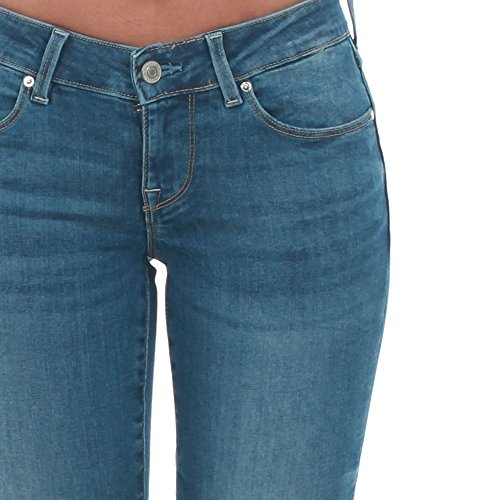 Jeans Guess Mujer 30 Azul W73A31D2N12 - SKLR: Amazon.es ...