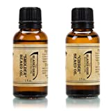 The Blades Grim ? Beard Oil, Handmade in the USA (Smolder, Cinder, 2 pack)