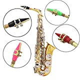 MAUBHYA ABS Colorful Mouthpiece for Eb Alto Saxophone