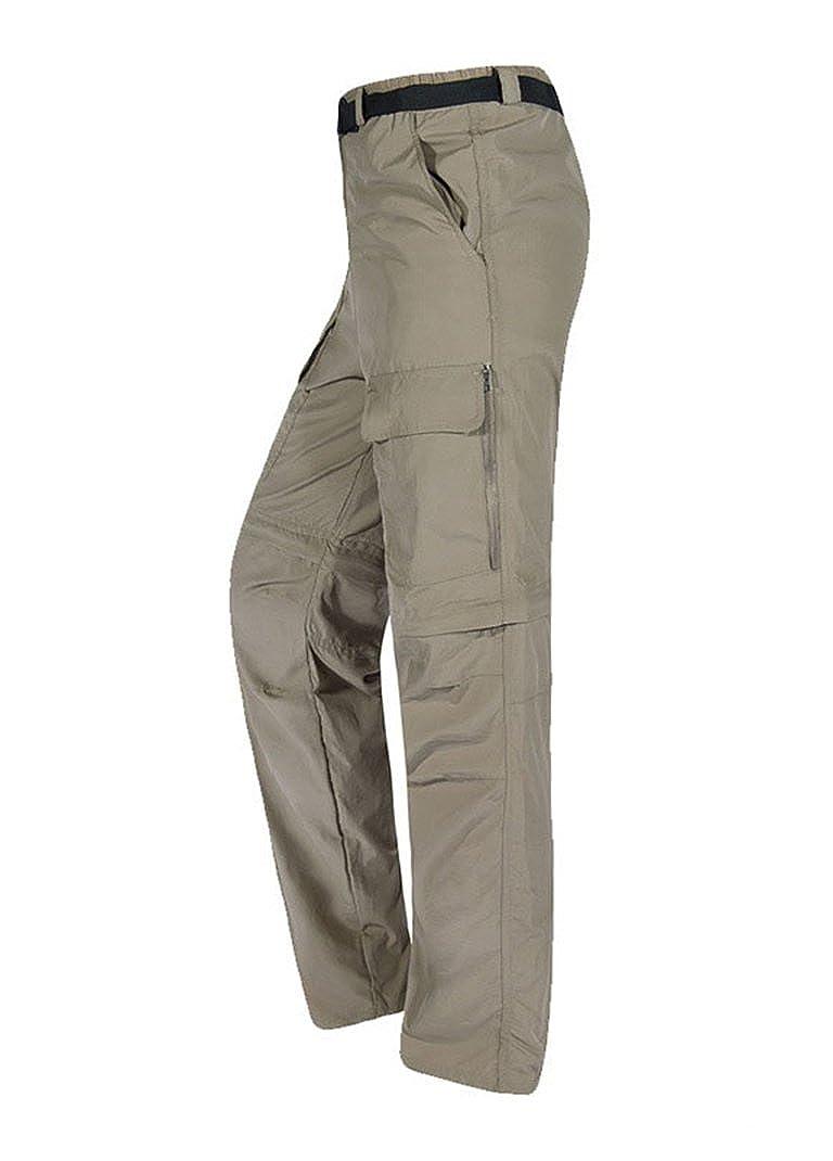 Baymate Homme Convertible Pantalon de Trekking Outdoor Sport Camping Pants