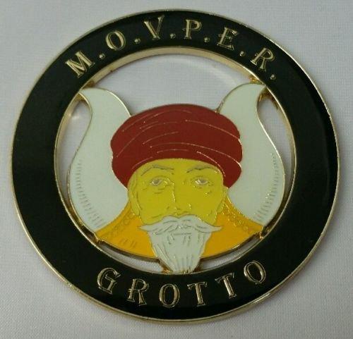 Mason Square Market M.O.V.P.E.R. Grotto Cut-Out Car Emblem