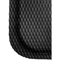 Andersen 422 Nitrile Rubber Hog Heaven Anti-Fatigue Mat with Black Border, 3 Length x 2 Width x 7/8 Thick, For Dry Areas by Andersen