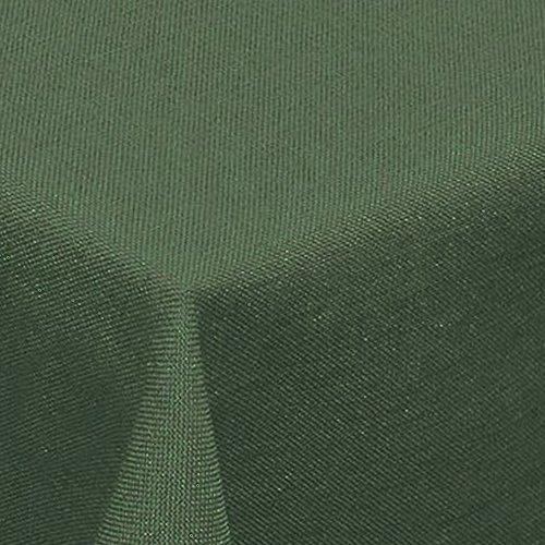 amp -artshop© Leinen Optik Tischdecke · Eckig 130x220 cm Dunkelgrün Grün - Farbe , Form & Größe wählbar · mit Lotus Effekt