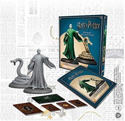 KNIGHT MODELS Juego de Mesa - Miniaturas Resina Harry Potter Muñecos Lord Voldemort y Nagini Español