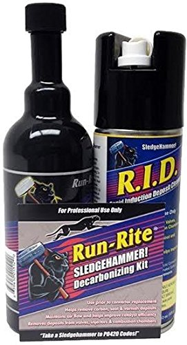 Sledgehammer Catalytic Converter Fuel System Rapid Induction Deposit Cleaner Remove P420 Code