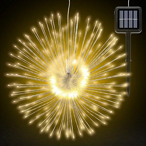 Outdoor Solar Chandelier Lighting