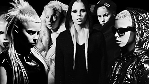 Die-Antwoord-Fabric-Cloth-Rolled-Wall-Poster-Print-Size-20-x-13