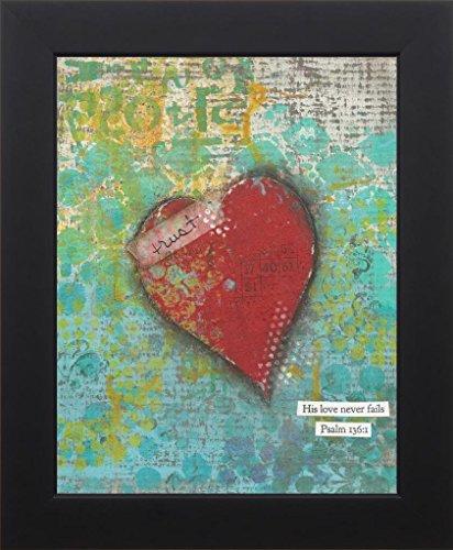 Rusty Heart (11x14 Trust Heart by Cushman, Cassandra: Studio Black CU1553)