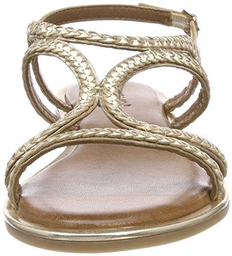 T Gold Chiusura a Sandali con Oro Donna 16779590 8367 Inuovo qxTZpx