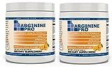 L-arginine Pro, #1 NOW L-arginine Supplement - 5,500mg of L-arginine PLUS 1,100mg L-Citrulline (Citrus Orange, 2 Jars)