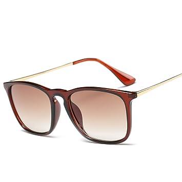 WKAIJC Männer Und Frauen Mode Persönlichkeit Bequem Retro Sonnenbrille Straße Selbstauslöser Sonnenbrillen,D