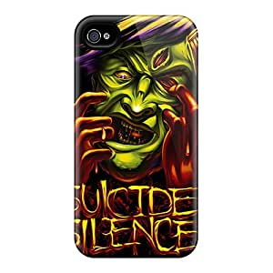 Shock-Absorbing Hard Cell-phone Cases For Iphone 6 (MPy2053yzVK) Support Personal Customs Colorful Suicide Silence Pictures