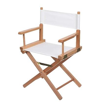 Silla del director sillón Silla de playa Silla para adultos ...