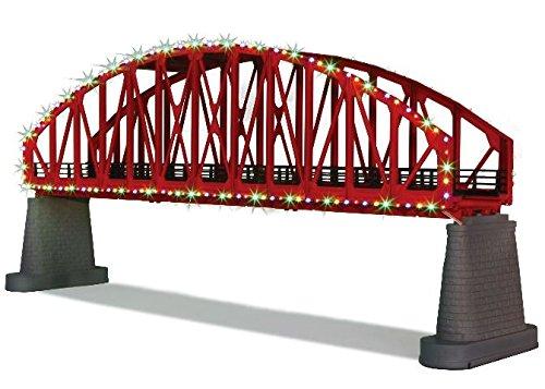 RED STEEL ARCH BRIDGE