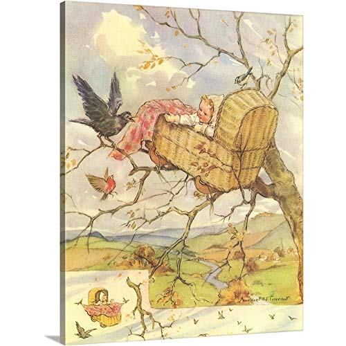 - Gallery-Wrapped Canvas Entitled Rock-a-Bye Baby by Margaret W. Tarrant 19