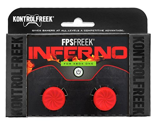 KontrolFreek FPS Freek Inferno Performance Thumbsticks for Xbox One Controller by KontrolFreek