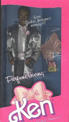 1987 Perfume Giving Ken Ethnic Barbie Doll Item #4555