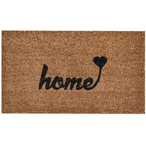 Ninamar Door Mat Home Natural Coir – 29.5 x 17.5 inch ()