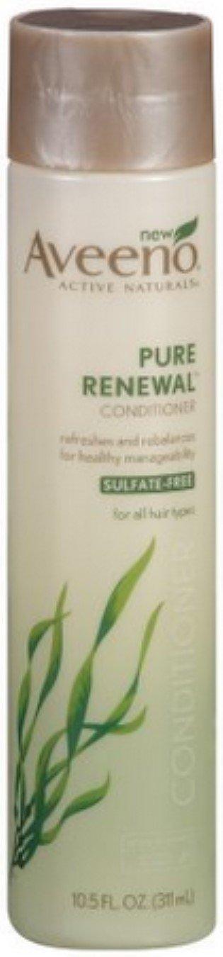 AVEENO Active Naturals Pure Renewal Conditioner 10.50 oz (Pack of 4)