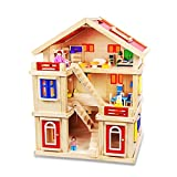 DIY Wooden Pretend Play House Furniture Kit for Kids Girls
