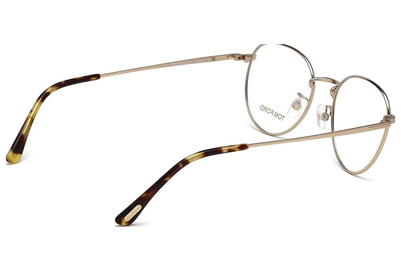ef60548a5de TOM FORD Eyeglasses FT5328 028 Shiny Rose Gold 51MM  Amazon.ca  Jewelry