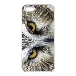 Diy Beautiful Owl Phone Case For Sam Sung Galaxy S4 Mini Cover White Shell Phone JFLIFE(TM) [Pattern-4]