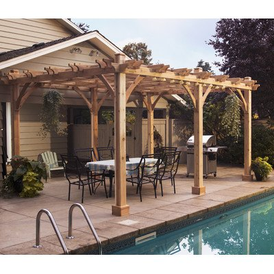 Breeze Pergola Size: 16' W x 12' D (Pergola Breeze)