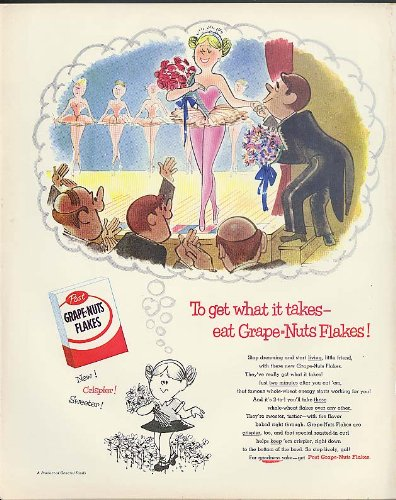 get-what-it-takes-post-grape-nuts-flakes-ad-1955-berenstain-prima-ballerina