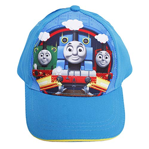 Berkshire Fashions Thomas The Train and Friends Blue Boys' Baseball Cap- Thomas, James & Percy