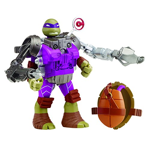 Teenage Mutant Ninja Turtles Mutations Donatello with Recon Battle Shell Action Figure