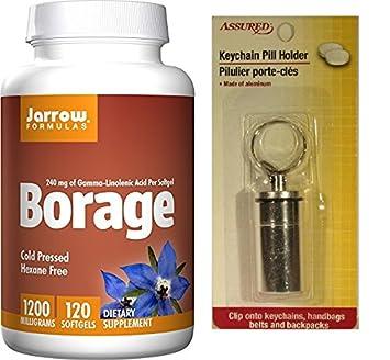 Borraja GLA 240, apoya la salud de las mujeres, 1200 mg, 120 cápsulas