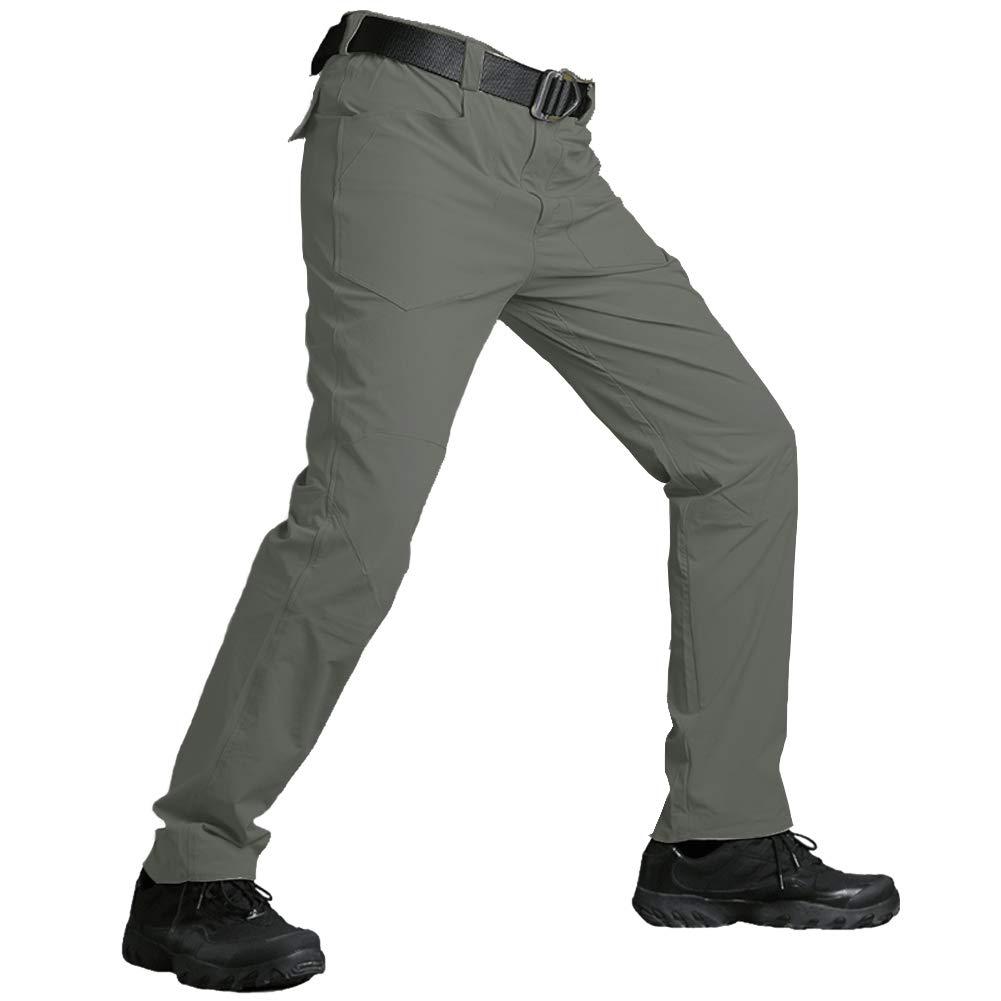 Hiauspor Mens-Hiking-Pants-Outdoor-Quick-Dry-Pants
